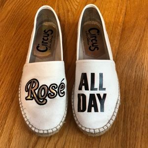 Rose all day espadrilles